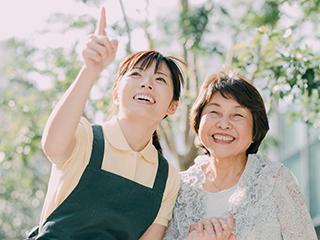 特定施設老人ホームやはぎ介護センタースミレ (ID:o0440053121-7)のバイトメイン写真